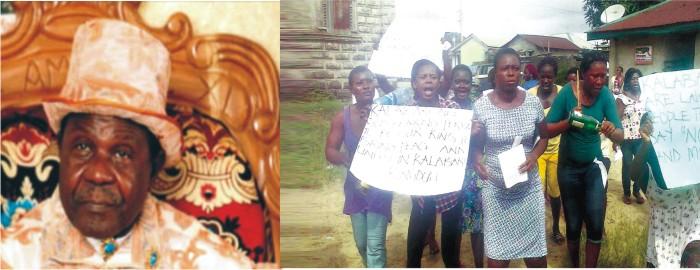 Kingship Tussle: Prof. Princewill Must Go, Kalabari  Women Protest